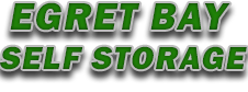 Egret Bay Self Storage Logo