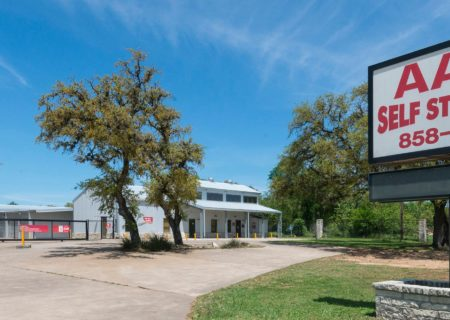 AAA Self Storage in Dripping Springs, TX.