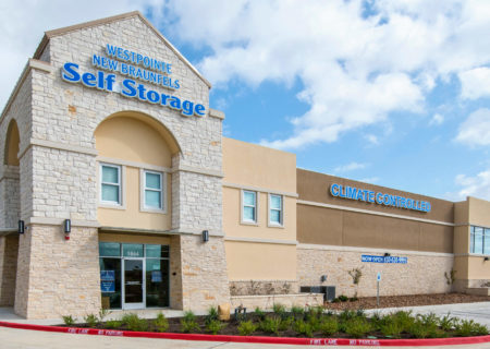 Westpointe New Braunfels Self Storage facility.