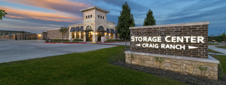 Storage Center Craig Ranch in McKinney, TX.