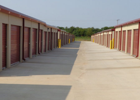 Storage units at Storage One in Norman, OK.