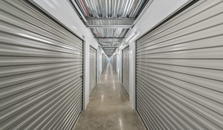 interior storage units at Southlake Storage