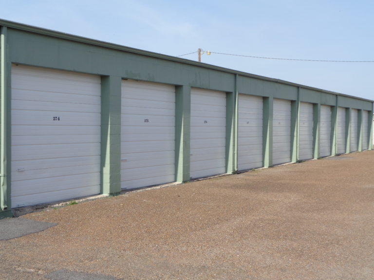 Storage units at Stor Galore.